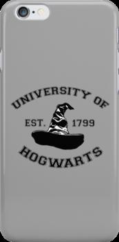 University Of Hogwarts by stevebluey