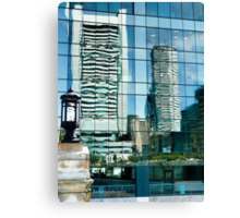 Shimmering View of the Federal Reserve Bank in Boston  Canvas Print