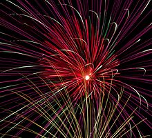 Boom  Boom - Fireworks Explosions by Kenneth Keifer