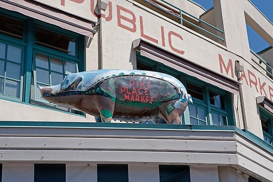 Pike Place Market in Seattle, USA by Keith Larby
