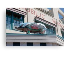 Pike Place Market in Seattle, USA Metal Print