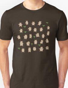 Tiny Bears Pattern Unisex T-Shirt