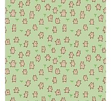 Tiny Bears Pattern Photographic Print