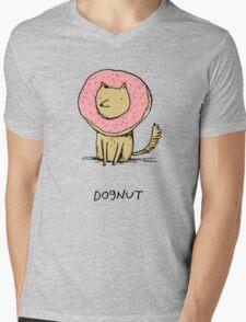 Dognut Mens V-Neck T-Shirt