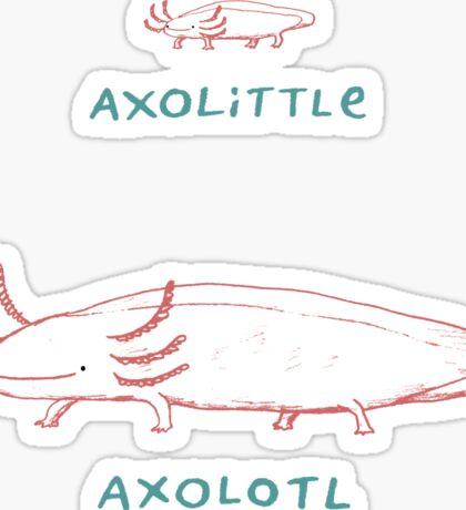 Axolittle Axolotl Sticker