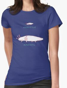 Axolittle Axolotl Womens Fitted T-Shirt