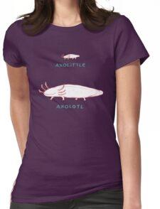Axolittle Axolotl Womens Fitted T-Shirt