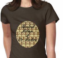 Sherlock Holmes & Doctor Watson Womens Fitted T-Shirt