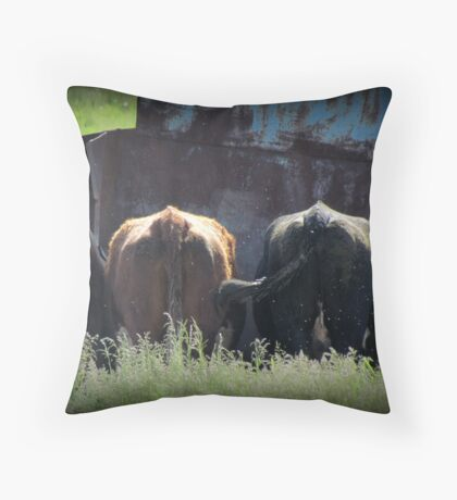 Afternoon Feast Throw Pillow