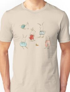 If Rabbits Wore Pants Unisex T-Shirt