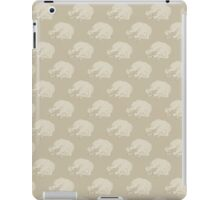 White Dog Sleeping iPad Case/Skin