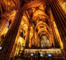 Barcelona Cathedral  by Yhun Suarez