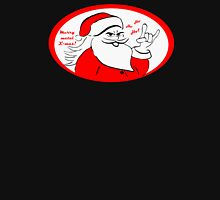 Heavy metal Santa Claus rocks this Xmas! Unisex T-Shirt