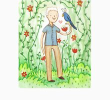 Sir David Attenborough & a Parrot T-Shirt