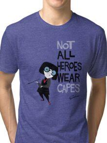 NO CAPES Tri-blend T-Shirt