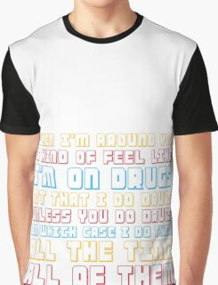 Scott Pilgrim is On Drugs Graphic T-Shirt