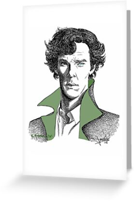 The Sherlock Variations (Green) by NadddynOpheliah