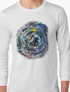 Psychedelic Space  Long Sleeve T-Shirt
