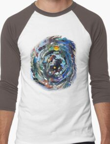 Psychedelic Space  Men's Baseball ¾ T-Shirt