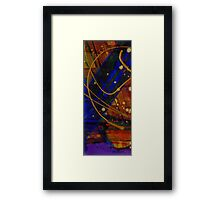 Mickey's Triptych - Cosmos I Framed Print