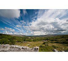 Irish cloudscape  Photographic Print