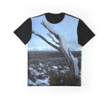Snowy Mountain Top Graphic T-Shirt