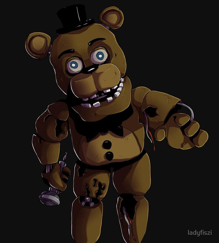 Quot Fnaf 2 Withered Freddy Fazbear Quot Posters By Ladyfiszi