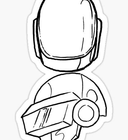 Daft Punk Sticker