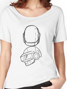 Daft Punk Women's Relaxed Fit T-Shirt