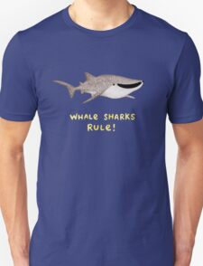 Whale Sharks Rule! Unisex T-Shirt