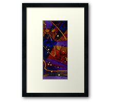 Mickey's Triptych - Cosmos III Framed Print