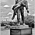 Memorial - Liberty State Park  by ColinKemp