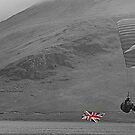 The Union Jack Paraglide by Lou Wilson
