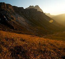 Dolomites by Claire Haslope