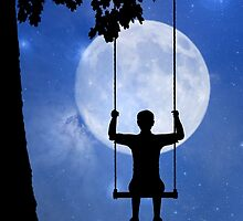 Childhood dreams, The Swing by John Edwards