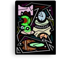 abstract urban 11 Canvas Print
