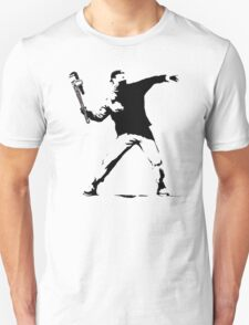 Banksy with Stillsons T-Shirt