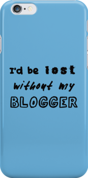 Lost Without My Blogger - iPhone/iPod version by allie26