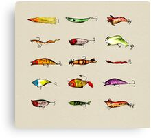 Lures Canvas Print