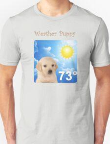weather puppy Unisex T-Shirt