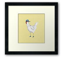 Spring Chicken Framed Print