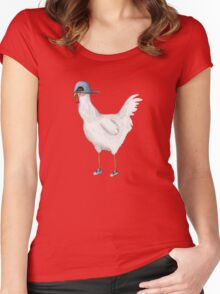 Spring Chicken Women's Fitted Scoop T-Shirt