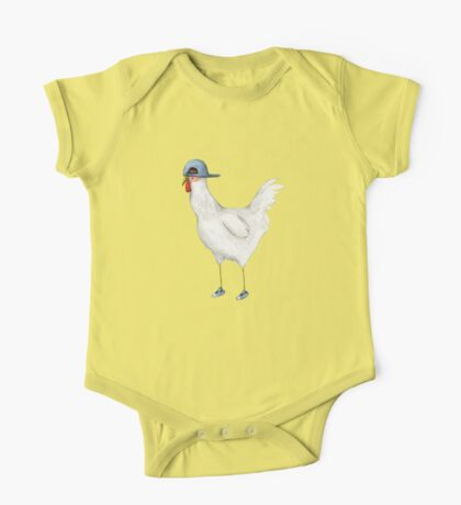 Spring Chicken One Piece - Short Sleeve