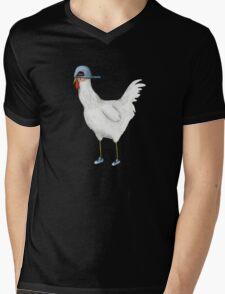 Spring Chicken Mens V-Neck T-Shirt
