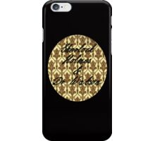 Sherlock Holmes & Doctor Watson - iPhone/iPod version iPhone Case/Skin