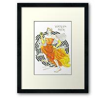 Run, Waylon, Run Framed Print