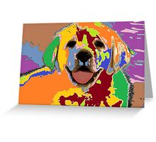 puppy Portrait 7 Greeting Card