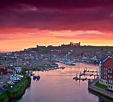 """Colour Coated Morning ~ Whitby, North Yorkshire"" by Bradley Shawn  Rabon"