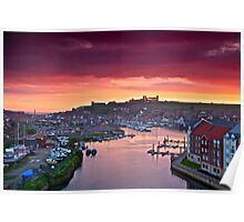"""""""Colour Coated Morning ~ Whitby, North Yorkshire"""" Poster"""