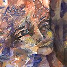 Sibyl's Multiple Prophecies(Silent Summit detail) by ArtPearl